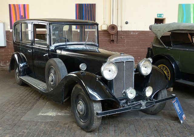 Daimler V 26 Hooper Limousine black 1934 vr | Flickr - Fotosharing!