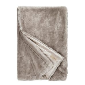 Silver Rabbit blanket Winter home  This beautiful synthetic blanket, imitation silver rabbit fur is lined in velvet. It is very flexible and resistant to sunlight as well as washing. Its texture of an incomparable softness will warm you so much that you can't do without during your long winter evenings.  Dimensions : 140 x 200 cm  or  55 x 78 inches  http://trend-on-line.com/brand/winter-home/plaid-silver-rabbit