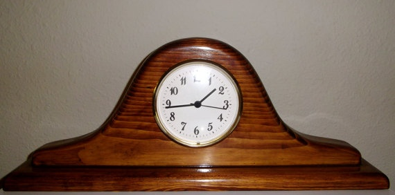 Handmade Mantel Clock - Reclaimed $35.00
