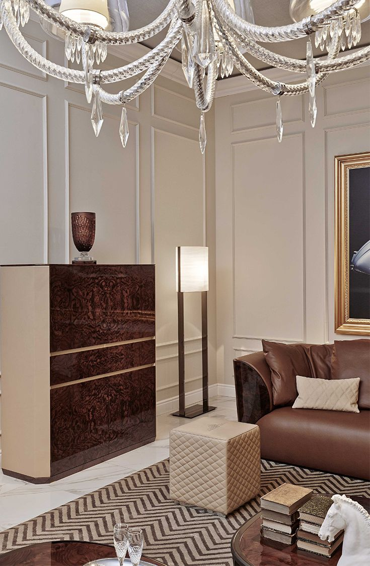 Alton' cabinet and Todd' ottoman for Bentley Home, September 2014