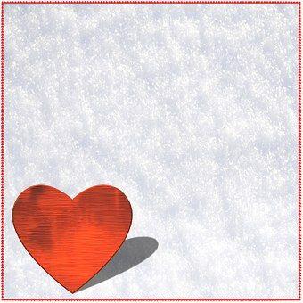 Achtergrond, Papier, Hart, Liefde