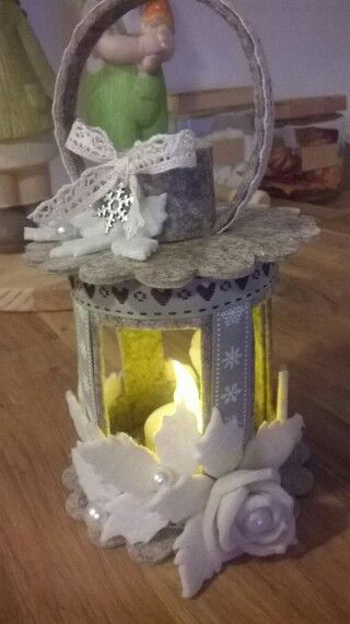 Lanterna in feltro