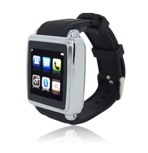 smart iphone watch smartwatch 1 54inch touch screen smart bluetooth 1588