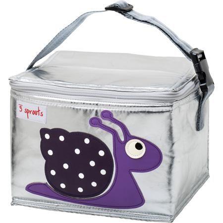 3 Sprouts Сумка для обеда Улитка (Purple Snail SPR1004), 3 Sprouts, фиолетовый  — 1599р.  Прекрасная сумка для обеда! Размер идеален для контейнеров, так что вы можете отправить детей в школу вместе с сытными закусками и обедами.  Дополнительная информация:  - Размер: 17х17х22 см. - Материал: полиуретан, полиэтиленовая пена, PEVA. - Орнамент: Улитка. - Цвет: фиолетовый.  Купить сумку для обеда Улитка (Purple Snail), можно в нашем магазине.