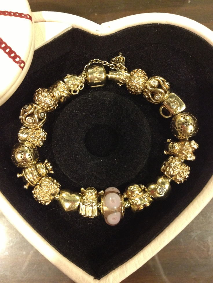17 Best Images About Pandora Two Toned Gold Bracelets On