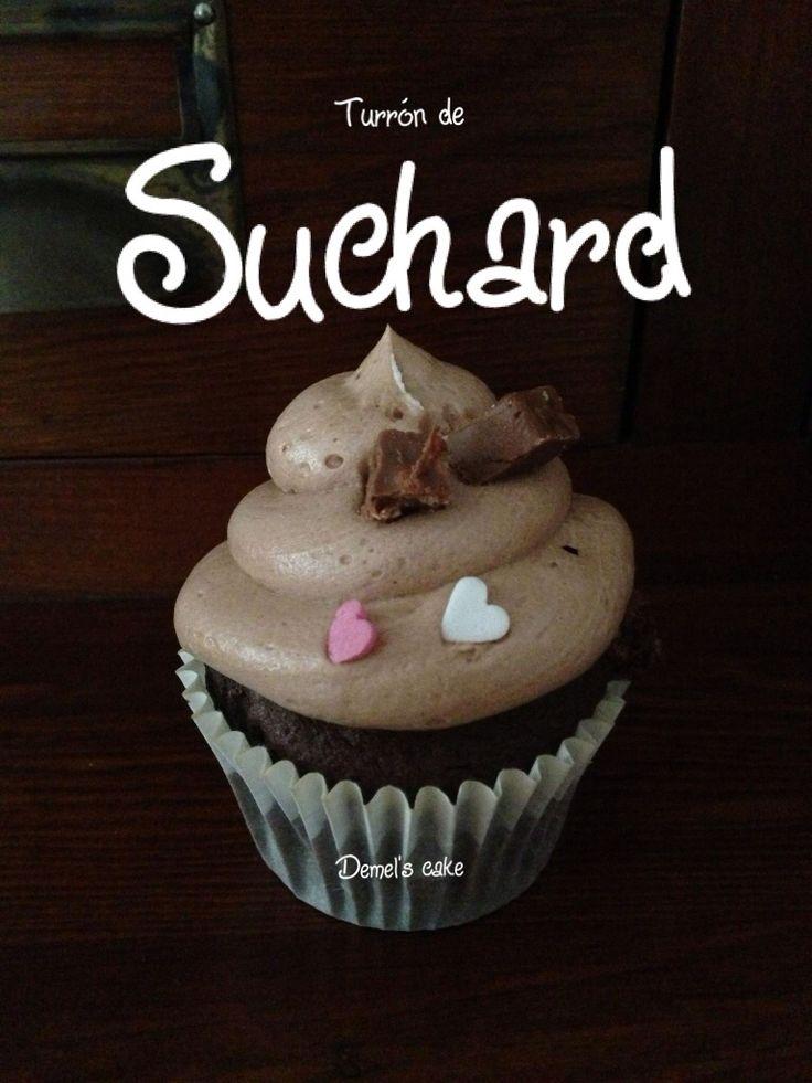 Cupcake turrón de suchard by Demel's cake