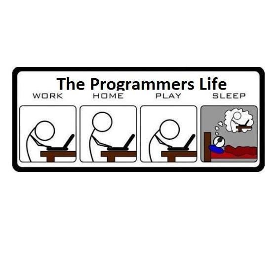 La dura vita dei programmatori (e dei social media manager, dei grafici, dei sistemisti,...)