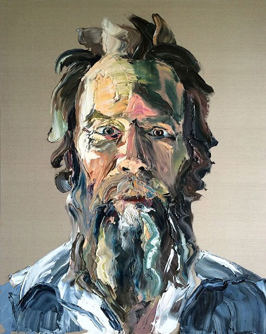 © Anh Do ~ Man 2 ~ 2015 oil on linen at Olsen Irwin Gallery Sydney Australia