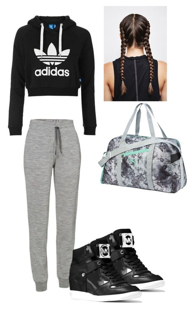 """Dance hip hop outfit"" by explorer-147283671010 on Polyvore featuring adidas Originals, Icebreaker, Puma and MICHAEL Michael Kors"