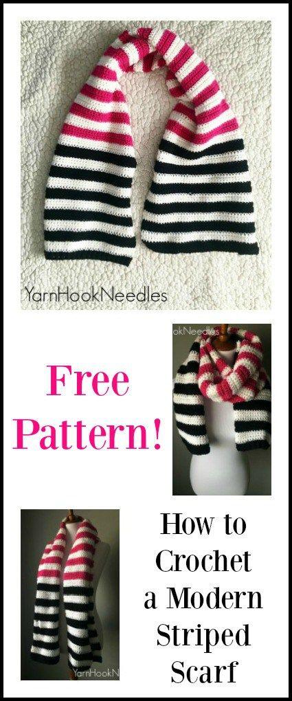 Mejores 184 imágenes de Crochet Scarfs en Pinterest | Capuchas de ...