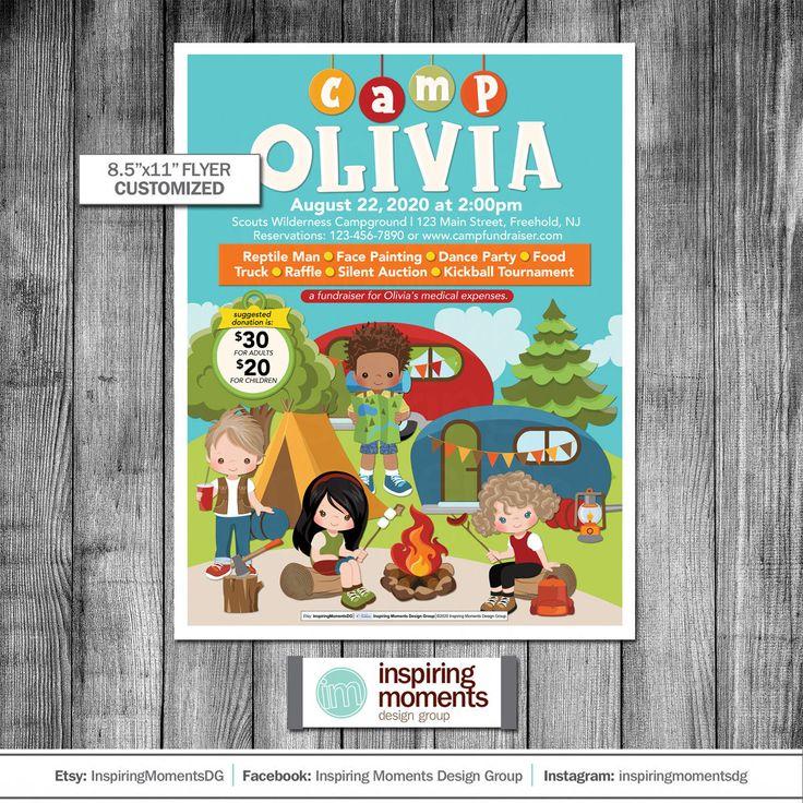 Summer Camp Flyer Printable Recreation Summer Activities