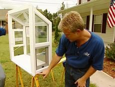 How to Replace an Existing Window With a Garden Window | how-tos | DIY