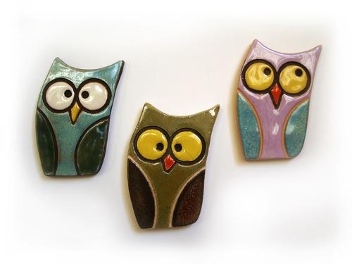 Magnete gufetto #owls