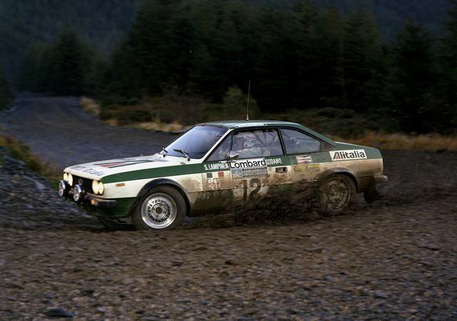 Lancia Beta Coupe Rally