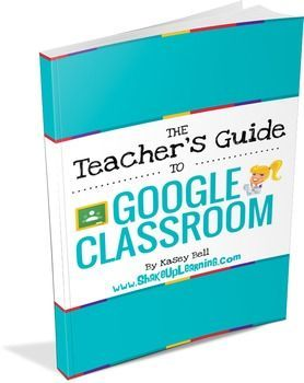 The Teacher's Guide to Google Classroom eBook: This is a step-by-step, how-to guide to help teachers learn how to use Google Classroom with their students. It also includes a FREE bonus guide for Students! Screenshots and printable directions will help you and your students get started with Google Apps in the Classroom!