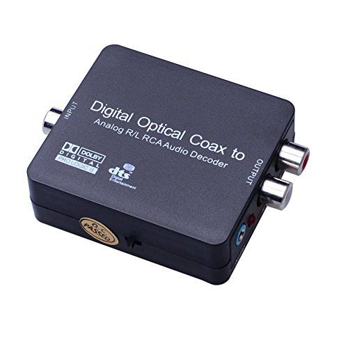 #Accessories #Digital audio decoder support 5.1 Dolby Digital #AC-3 Dolby Pro Logic, DTS, DAC Converter which converts SPDIF Optical or Coaxial digital PCM audio ...