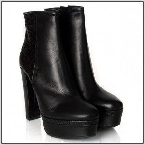 Ankle Boots Womens Black