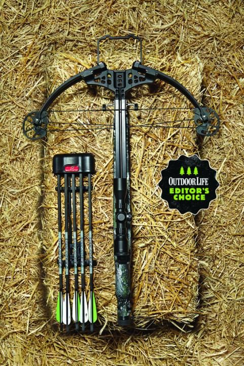 The StrykeZone 380 is a compact bow that squeezes stellar performance out of a modest 160-pound draw weight. ($749)