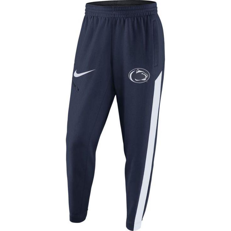 Nike Men's Penn State Nittany Blue Elite Therma-FIT Pants, Team