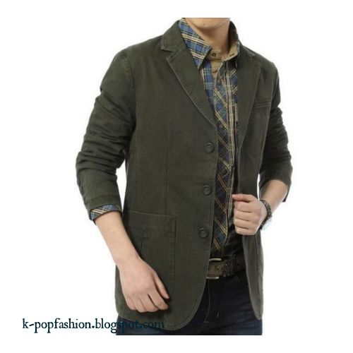 Men Blazer Pure Cotton