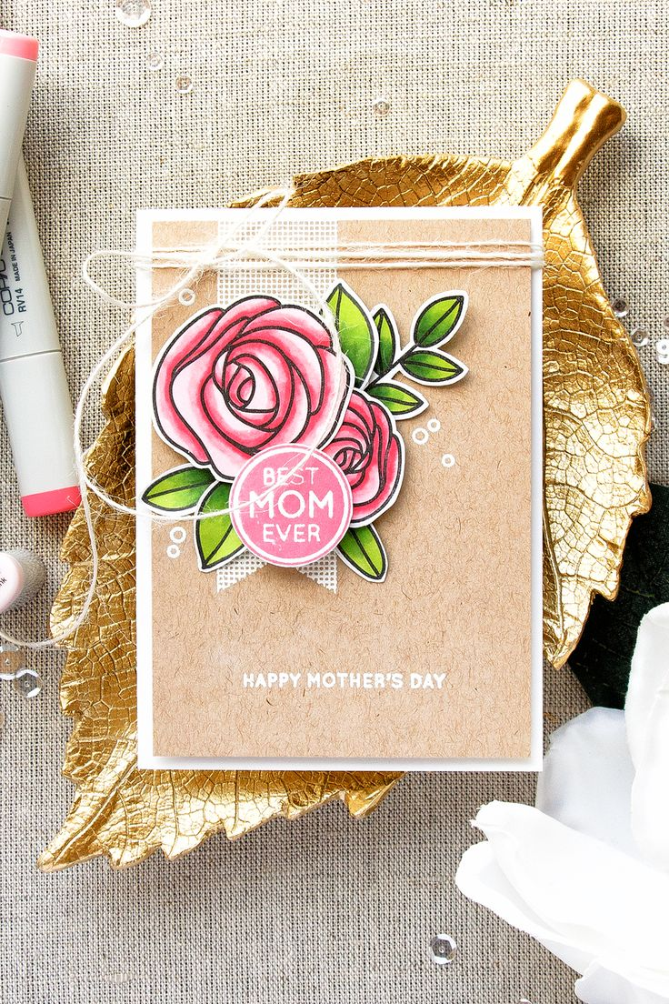 17 best ideas about flower cards on pinterest cards for Classy mothers day cards