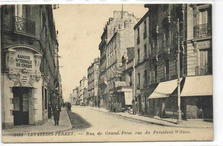 urbitrend-collectables - 1 carte postale France DEP 92 Hauts de Seine Levallois Perret Rue De Gravel Et President Wilson, €6.00