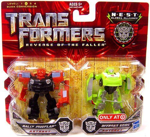Transformers 2 Revenge of the Fallen Movie Exclusive Global Alliance 2Pack Rally Mudflap  Offroad Skids *** You can find more details by visiting the image link.Note:It is affiliate link to Amazon.