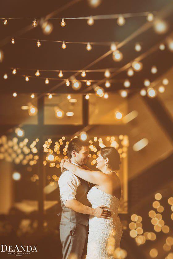 Lighting goals! Oak Brook Bath and Tennis Club Weddings West Chicago.