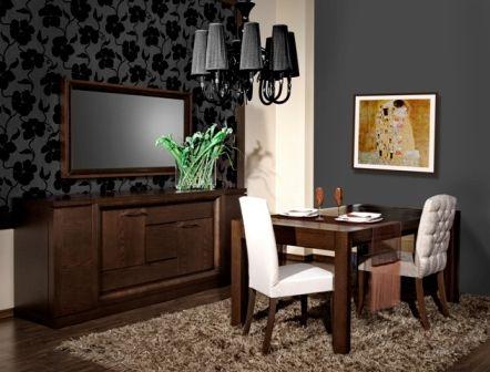 Casa Ampia-τραπεζαρία Κυκλικό-τραπέζι-καρέκλα-μπουφές-dining table-έπιπλα-διακόσμηση σπιτιού-ιδέες και λύσεις