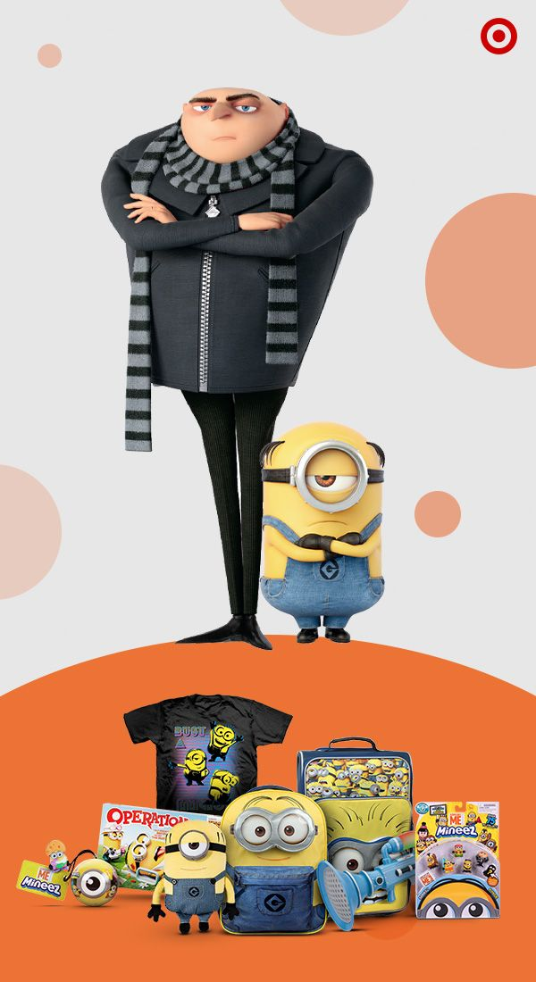 Let the minions give your home a makeover with awesome Despicable Me 3 must-haves. Style your living room with despicable décor. Stock the kitchen with cute & quirky snacks. Pack the kid's playroom with toys, games and other cool gear. There's even awesome apparel for those with a despicable sense of fashion.