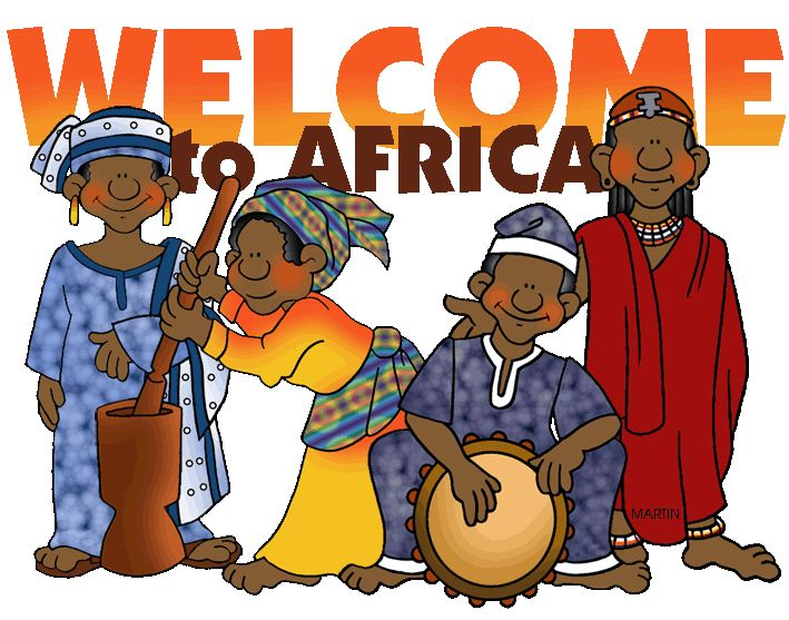 Africa - Free Presentations in PowerPoint format Illustration