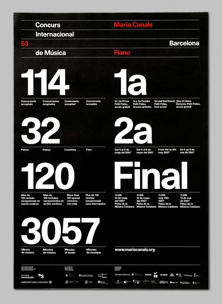 Astrid Stavro is a Spanish graphic designer who creates amazing posters and editorial design.
