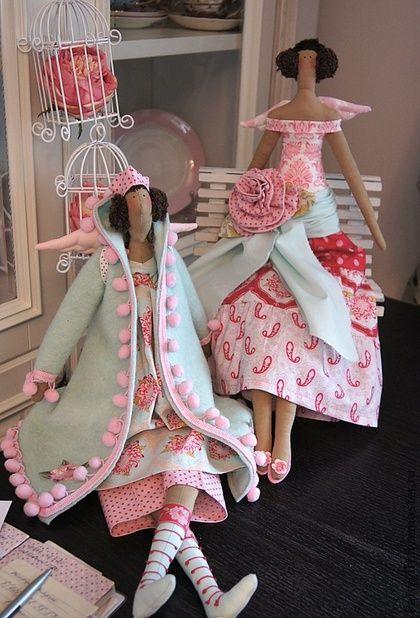 Куклы Тильды ручной работы. Ярмарка Мастеров - ручная работа Soft Winter Ангел. Handmade.