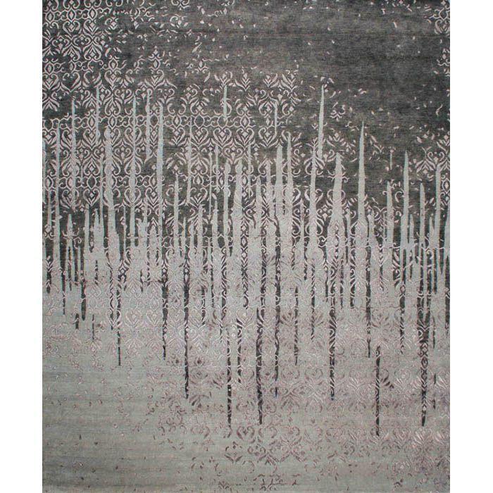 Серый ковер с Венгерскими узорами Thorens #carpet #rug #interior #designer #ковер #дизайн
