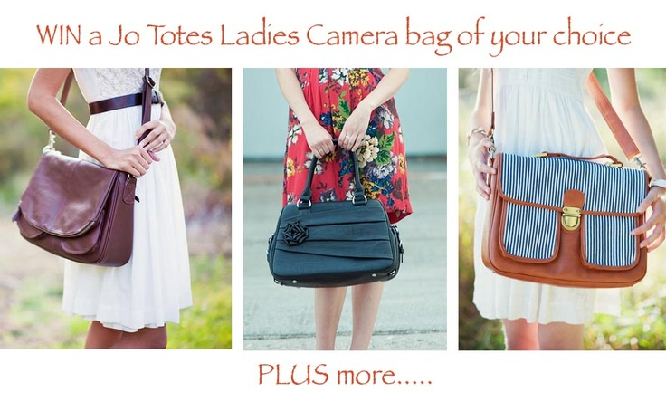 Cambags: Mothers Day Giveaway.  Win a Jo Totes ladies camera bag of your choice PLUS more...  ONLY at Cambags.