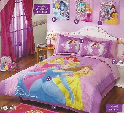 Edredón princesas mágicas JI