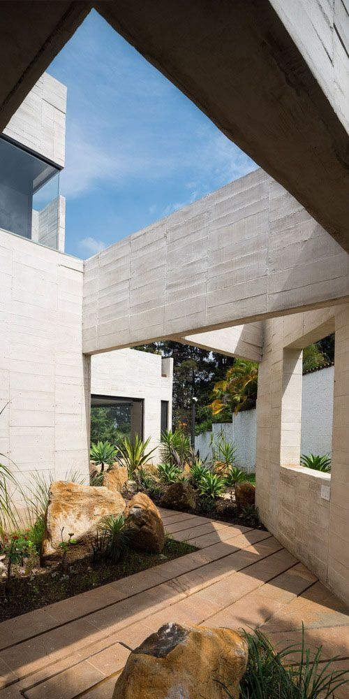icf home designs%0A A Garden House Designed by the Firm CONNATURAL in Medellin  Antioquia   Colombia