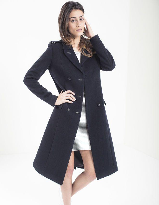 Manteau officier femme