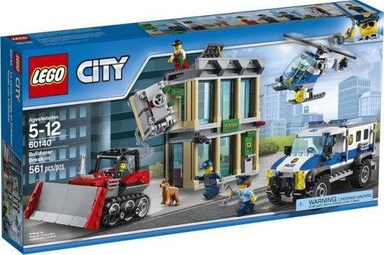 Lego City : Le cambriolage en bulldozer - Castello | Jeux et Jouets