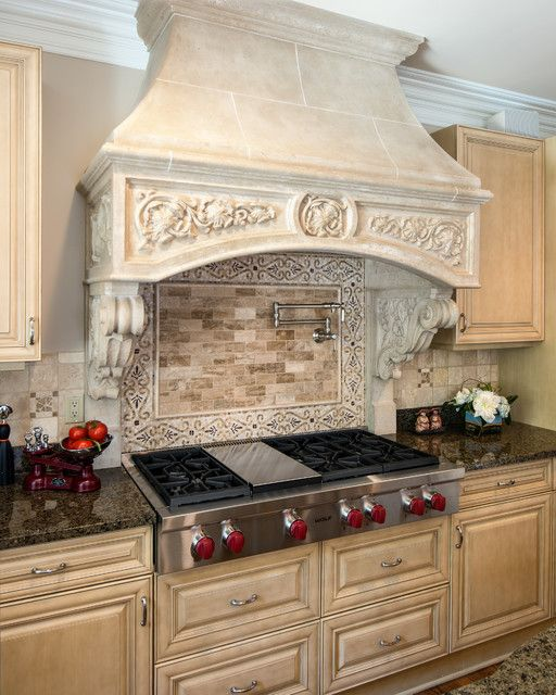 Traditional range hood cover  - 4 Types of Kitchen Range Hoods to Transform Your Kitchen