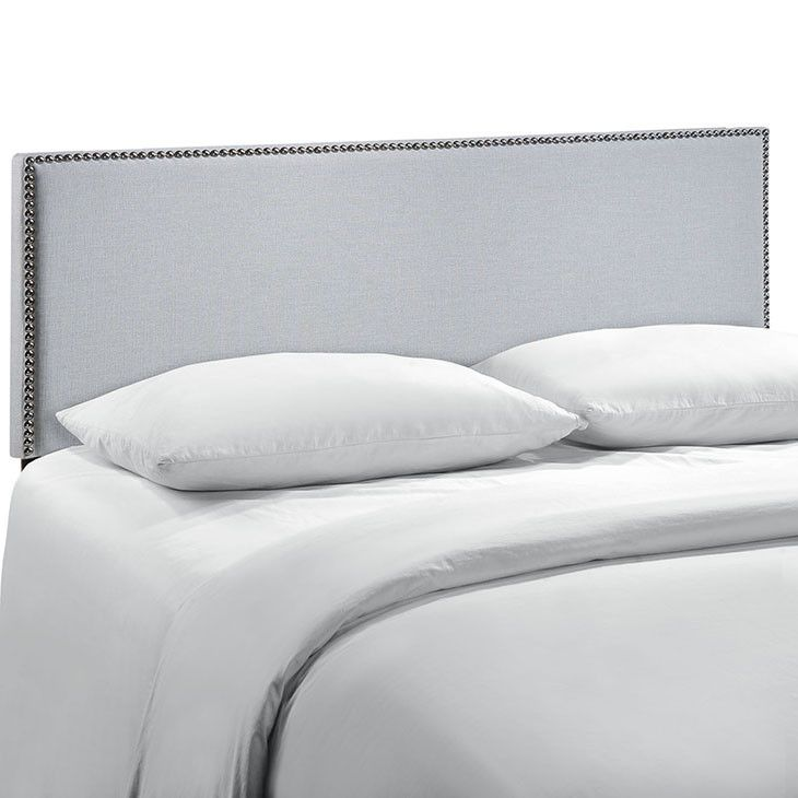 Modway Furniture Modern Region Queen Nailhead #design #homedesign #modern #modernfurniture #design4u #interiordesign #interiordesigner #furniture #furnituredesign #minimalism #minimal #minimalfurnitureUpholstered Headboard