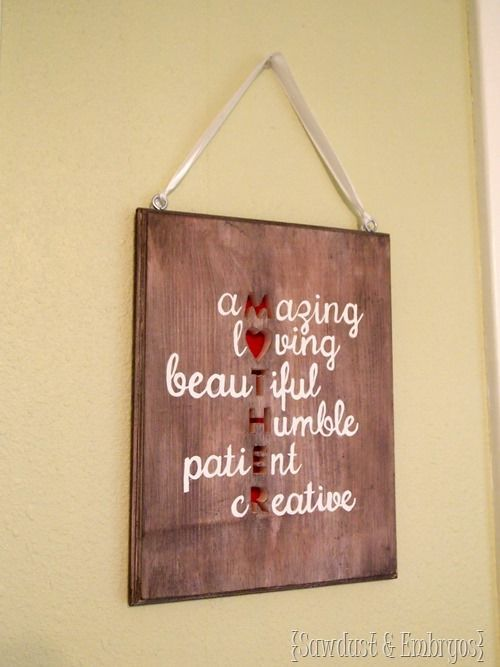 1000 images about diy and crafts on pinterest vinyls for Meaningful gifts for dad from daughter