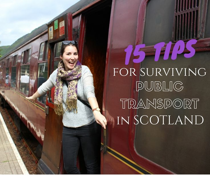 Ever had trouble with train or bus travel in a foreign? I'm sharing my best tips for surviving public transport in Scotland.