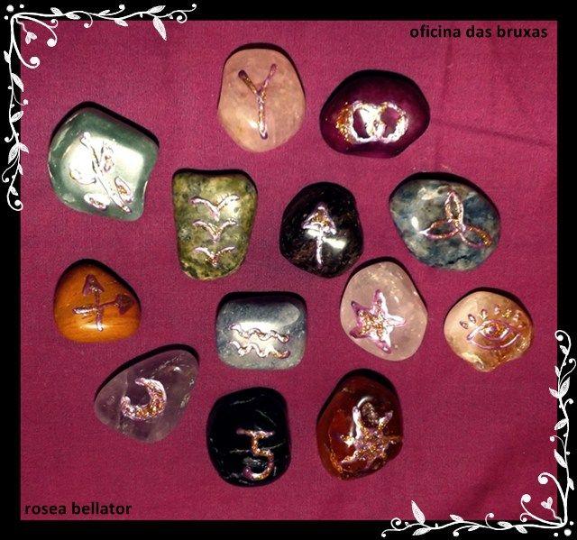 as runas das bruxas, como fazer, como jogar e significados!!!