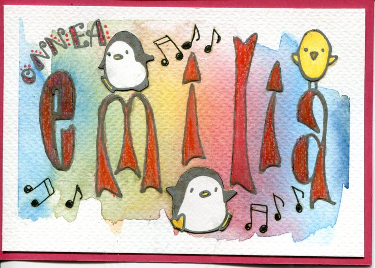 .. Nimipäiväkortti tyttärelle 19.05.2016