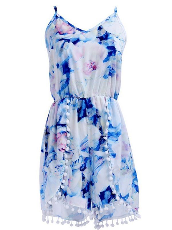 Jumpsuits playsuits topshop women v ncek  strap backless high waist floral print jumpsuits #jumpsuits #and #playsuits #uk #playsuits #jumpsuits #asda