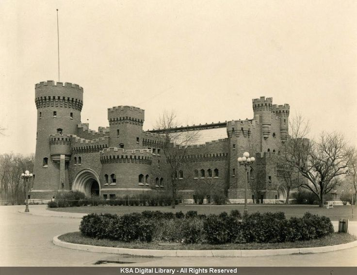 Armory, Before Demolition (historical Photos From The Archives At The Ohio  State University Knowlton School Of Architecture Digital Library) |  Pinterest ...