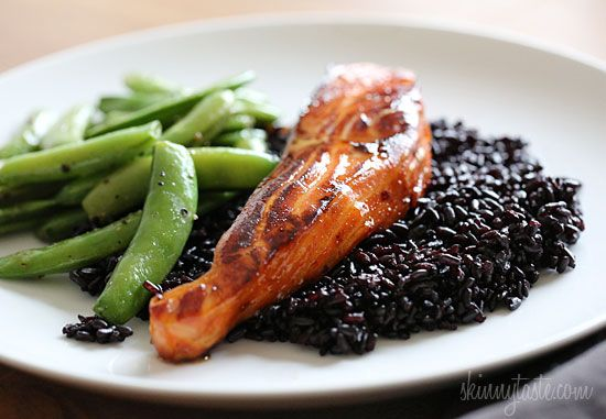 Honey-Teriyaki Salmon - an easy dish you can make any night of the week.