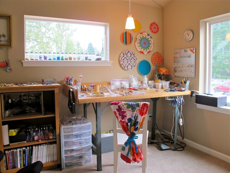 17 Best Images About Crafts Room Ideas On Pinterest