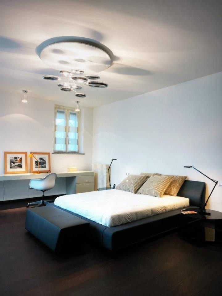 Private Villa am Comer See-Studio Marco Piva zeitgenössische Innenarchitektur erstaunliche anzeigen schönes Interieur Design minimalistisch eleganten Schlafzimmer Lösung